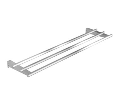 Duke F3BTS-HD-5 72.37-in Tubular Tray Slide for 5-Well Units w/ 5-Stainless Tubes