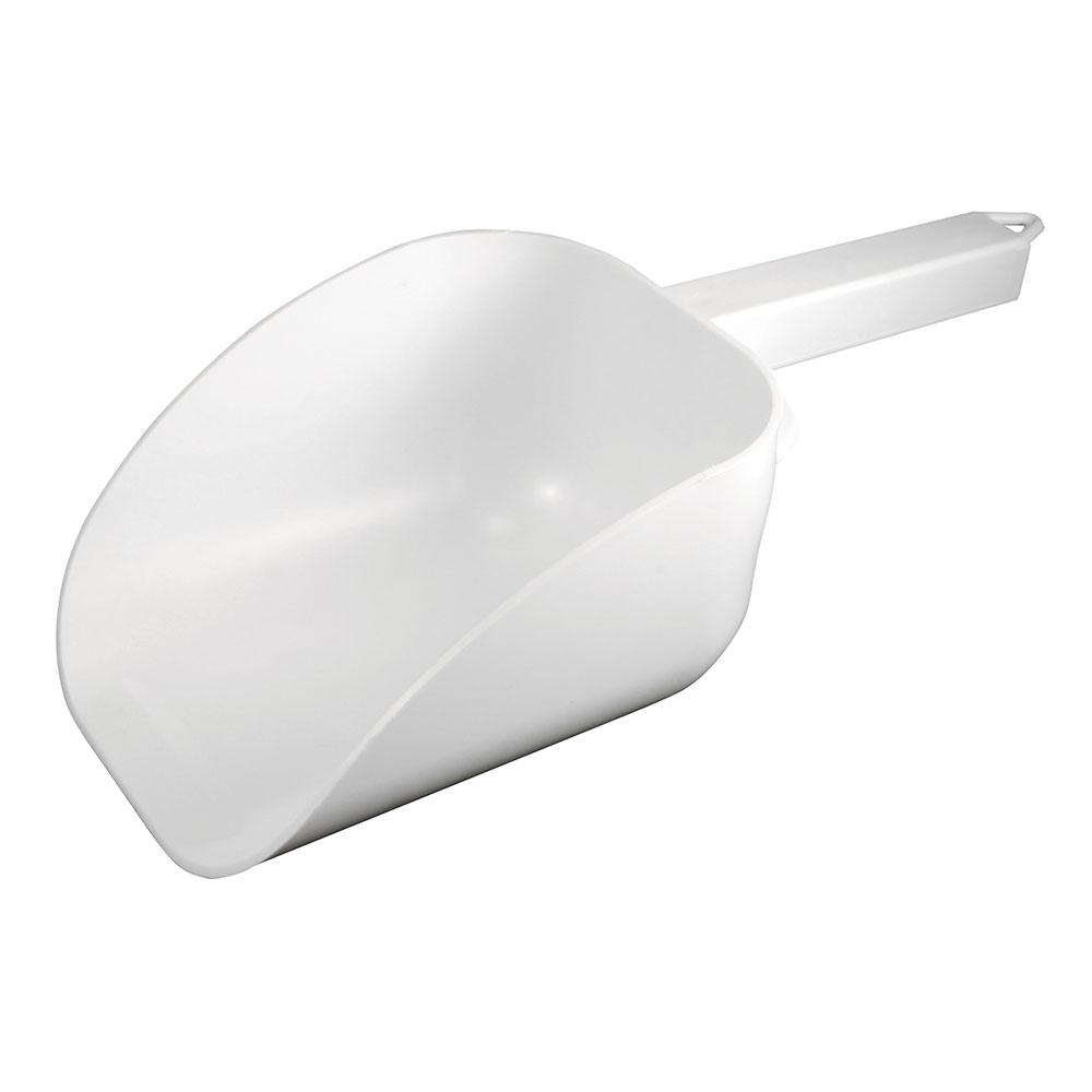 Bar Maid CR-838W 32-oz Scoop - Flat Bowl with Hook Handle