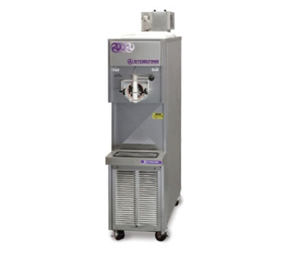 Stoelting 217-18 Soft Serve Freezer w/ Mix Pump, 6.5-Gal Hopper, Water Cooled, 208-230/1 V
