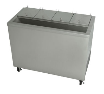 Stoelting DC4-37 Ross Dipping Cabinet w/ Condiment Rail, Air Cool, 4-Bucket Capacity, 115 V