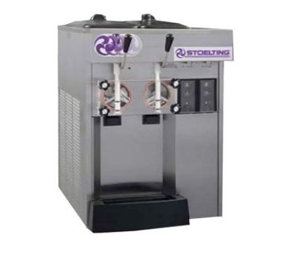 Stoelting F144-38 Combo Soft Serve Shake Freezer, (2) Flavors w/ (2) Valve, Air Cool, 208230/1 V