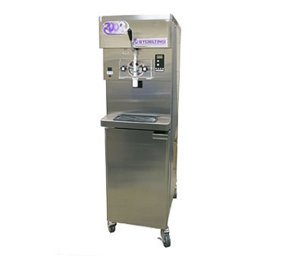 Stoelting O431-109 Soft Serve Freezer w/ (2) 22-qt Hoppers, Water Cooled