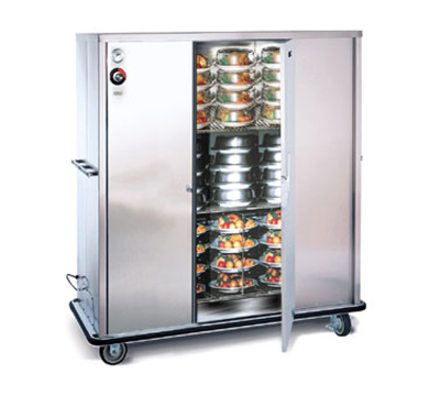 FWE - Food Warming Equipment A-120 120 A-Series Banquet Cart, 1-Door, 96-120-Plate Capacity, 11-in Max, 120V