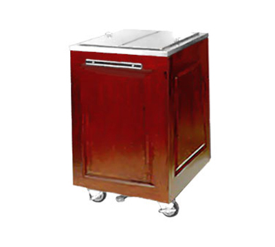 FWE - Food Warming Equipment AS-IC-200-MW Mobile Ice Bin w/ 200lb