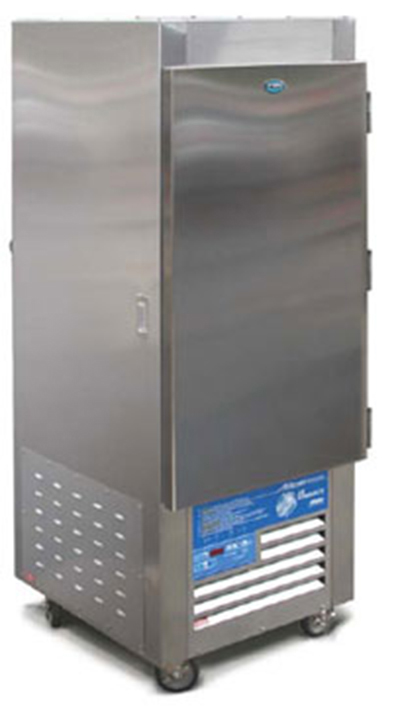 "FWE - Food Warming Equipment ASU-9 220 28"" Single Section Roll-In Refrigerator, Solid Door, 115v"