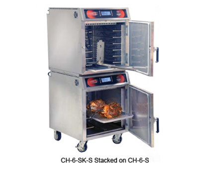 FWE - Food Warming Equipment CH-6-SK-S 220 Commercial Smoker Oven with Cook & Hold, 220-240/1v
