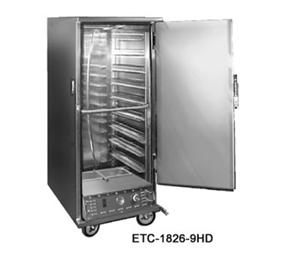 FWE - Food Warming Equipment ETC-1826-14HD 120 Heated Transport Cabinet, Full Height, 1-Door, Stainless, 120V