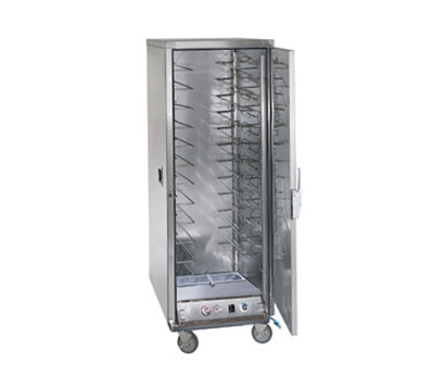 FWE - Food Warming Equipment ETC-UA-12PH Proofer-Heater Transport Cabinet, Full Height, 12-Tray Slides, Stainless, 120V