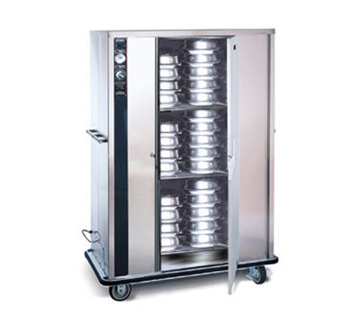 FWE - Food Warming Equipment P-144 P-Series Banquet Cart w/ 1-Door, 120/144-11in Round Plate Capacit