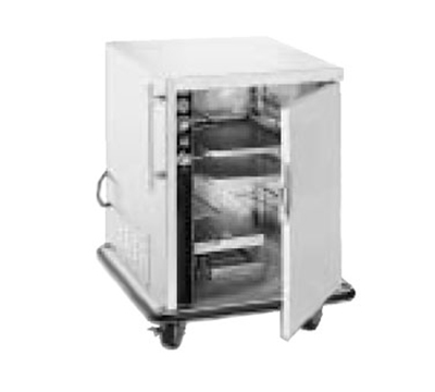 FWE - Food Warming Equipment PH-1826-14 120 Mobile Heater-Proofer Cabinet w/ 2-Sections, Half-Ht, 10-Pair Slide Cap.