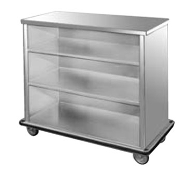 FWE - Food Warming Equipment SPSC-44 Back Bar, 28.5x45.5x50in L, Full-Bumper, Welded Steel Frame, Stainless Interior.