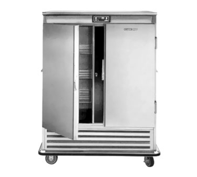 FWE - Food Warming Equipment SR-60 220 Mobile Refrigerated Cabinet w/ 2-Doors, 6-Wire Shel