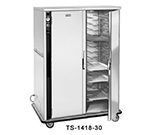 FWE - Food Warming Equipment TS-1418-30 120 Heated Tray Delivery Cart w/ 2-Doors, 30-Pair Universal Slides, Insulated, 120V