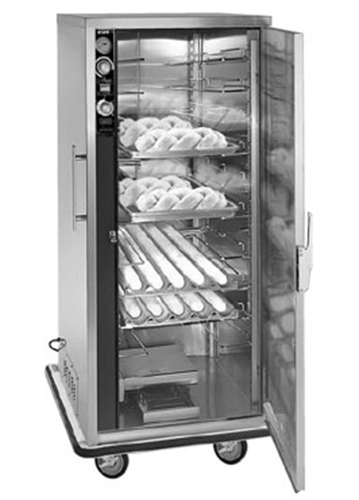 FWE - Food Warming Equipment PH182618 Mobile Heater-Proofer Cabinet, Insulated,12-Pair Slide Cap., Stainless, 120V