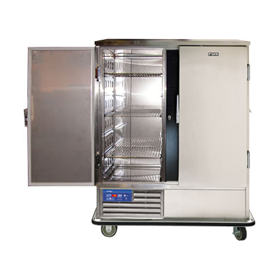 """FWE - Food Warming Equipment SR-60 57.5"""" Two Section Roll-In Refrigerator, (2) Solid D"""