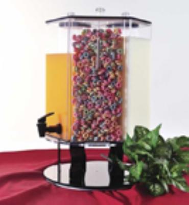 Jule-Art 880-1840 Beverage Dispenser w/ Rotating Base, Black
