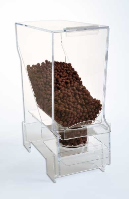 Jule-Art 880-1865 Portion Control Bulk Cereal Dispenser w/ 1.75-Cup Capacity