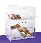 Jule-Art BF6TC Front Opening Bakery Case w/ (6) 13 x 18-in Trays & 2-Hinged Doors