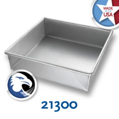 Chicago Metallic 23100 Glazed Pie Pan, 9-in Diam,