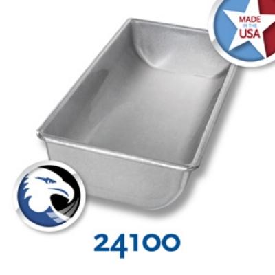 Chicago Metallic 24100 Glazed Hearth Bread Pan, Alumin