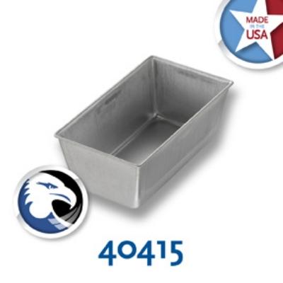 Chicago Metallic 40415 Glazed Bread Pan, 5-5/8 x