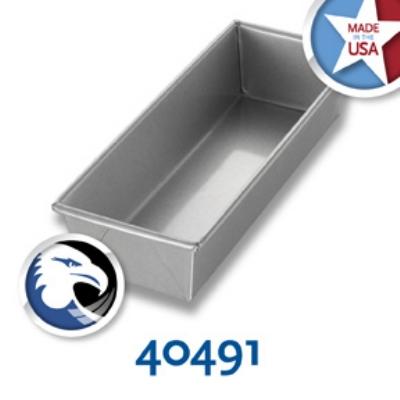 Chicago Metallic 40491 Individual Bread Pan, 12.25 x 4.5-in, Alumi