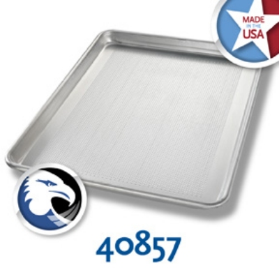 Chicago Metallic 40857 1/2-Size Sheet Pan, Aluminum,