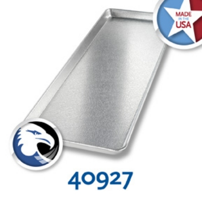 Chicago Metallic 40927 Display Pan, 9 X 26-in, Silver Finish, Anodized Aluminum