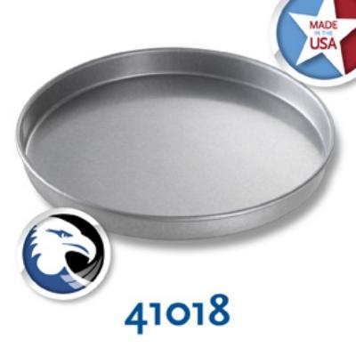 Chicago Metallic 41018 Round Cake Pan, 10 x  1-in, Aluminized Steel