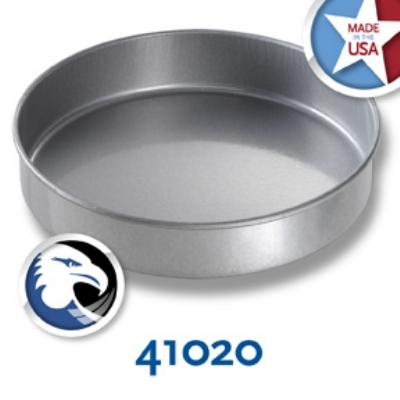 Chicago Metallic 41020 Round Cake Pan, 10 x 2