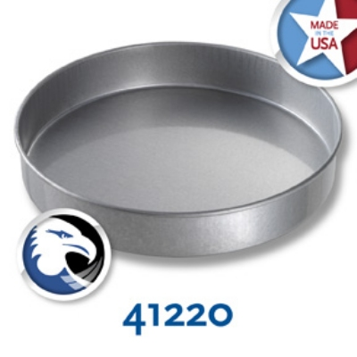 Chicago Metallic 41220 Round Cake Pan, 12 x 2-in, A