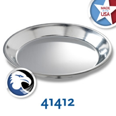 Chicago Metallic 41412 Pie Plate, 11 x 1.25-in, Tin
