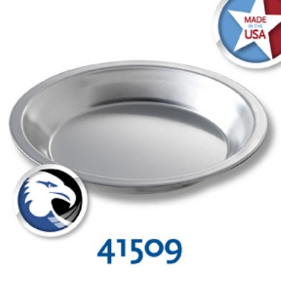 Chicago Metallic 41509 Pie Plate, 7-15/16 x 1-5/32-in, Aluminum
