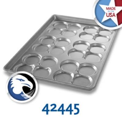 Chicago Metallic 42445 Cluster Hamburger Bun