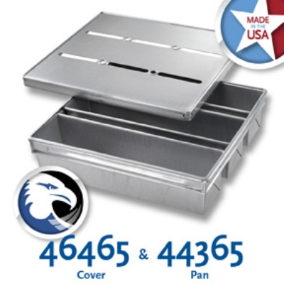 Chicago Metallic 44365 Pullman Pan Set, Holds (3) 16-23/32 x 15.75-in, A