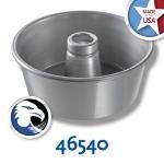 Chicago Metallic 46540 Angel Food Tube Cake Pan, 9.25  x 4-in, Seamless, Aluminum