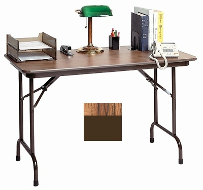 Correll CF2436MK 06 Keyboard Height Folding Table w/ Melam