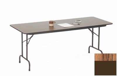 Correll CF1848M 06 Melamine Folding Table w/ 5/8-in High Density Top, 18 x 48-in, M