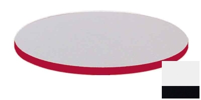 Correll CT60R 26 60-in Round Cafe Breakroom Table Top, 1.25-in High Pressure, White