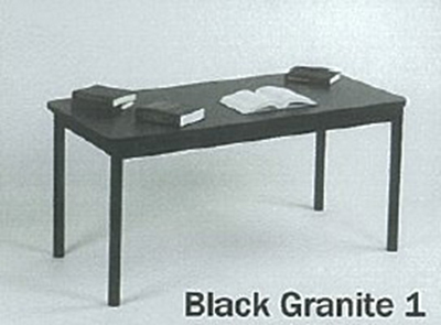 Correll LR3672 07 Economical Library Table