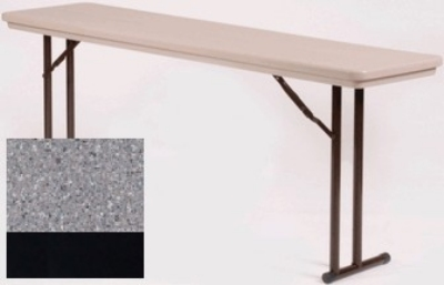 Correll R3096TL 23 Folding Seminar Table w/ Blow-Molded To