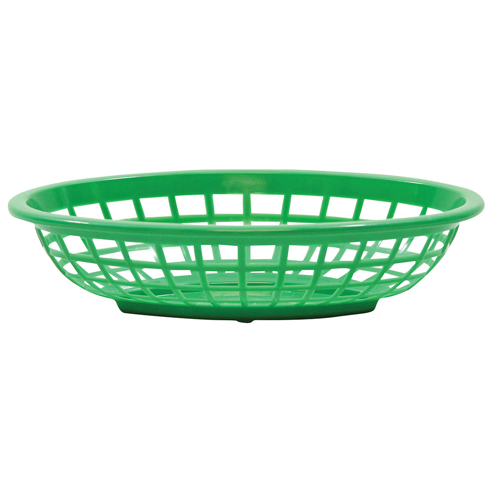 Tablecraft 1071G Oval Side Order Basket, 7.73 x 5.5 x 1-7/8-in, G