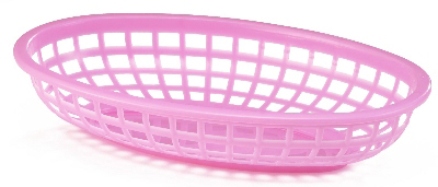 Tablecraft 1074P Classic Oval Basket, 9-3/8 x