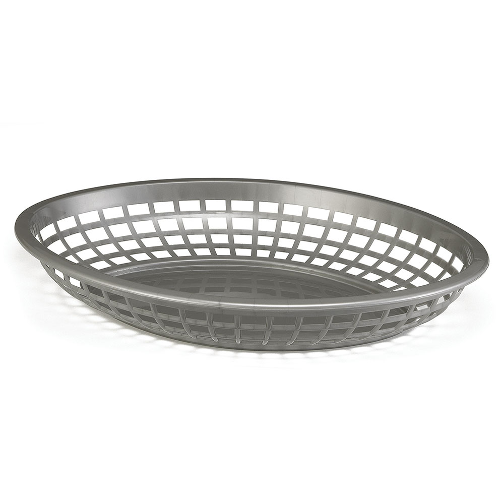 Tablecraft 1084GM Jumbo Oval Basket, 11.75 x 8-7/8 x 1-