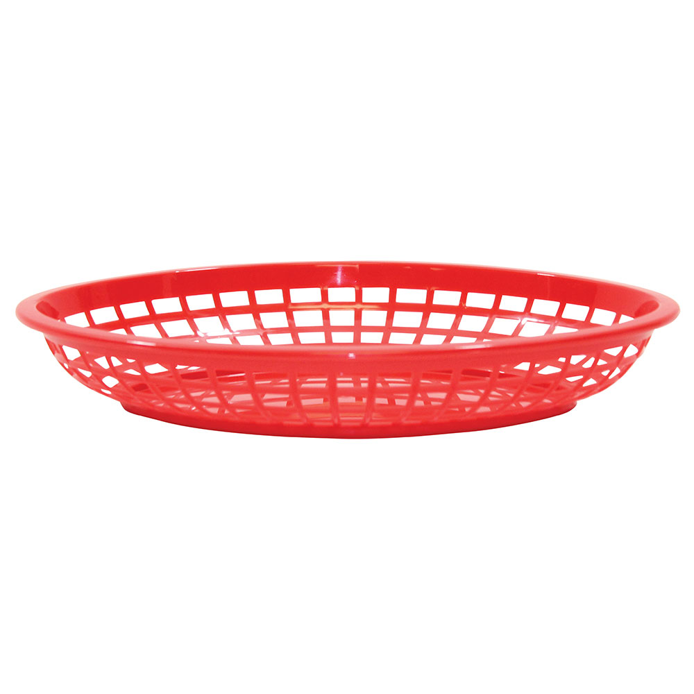 Tablecraft 1084R Jumbo Basket, 11.75 x 8-7
