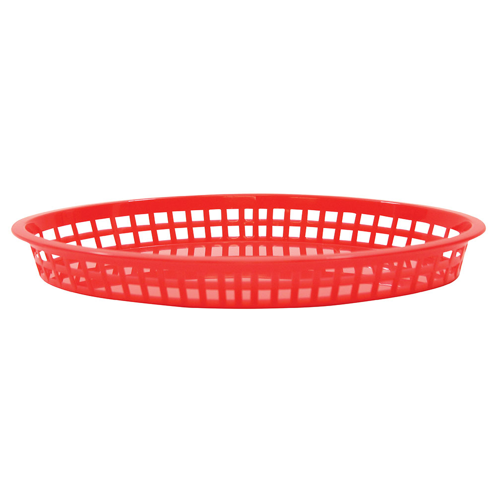 Tablecraft 1086R Texas Platter Basket, 12.