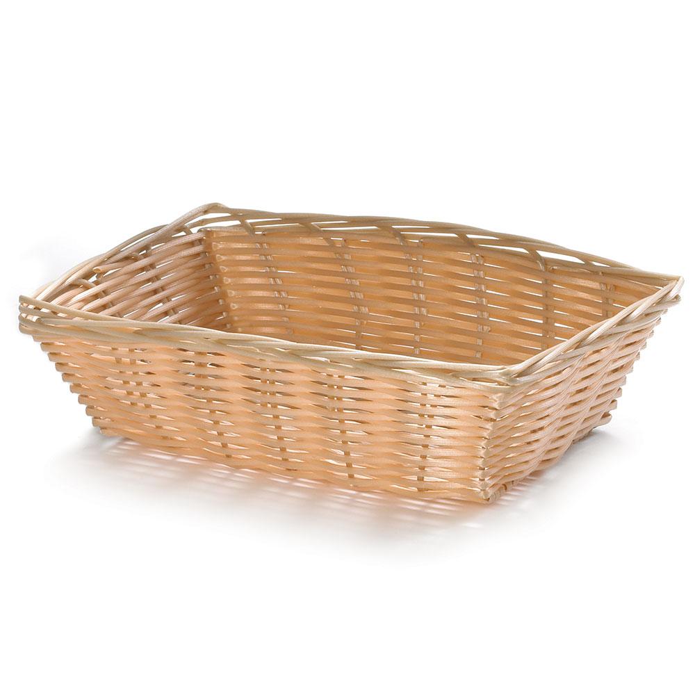Tablecraft 1172W Handwoven Basket, 9-in