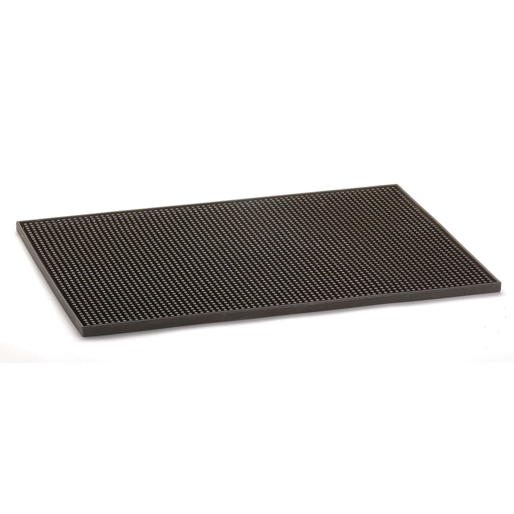 Tablecraft 1218BR Bar Service Mat, Brown