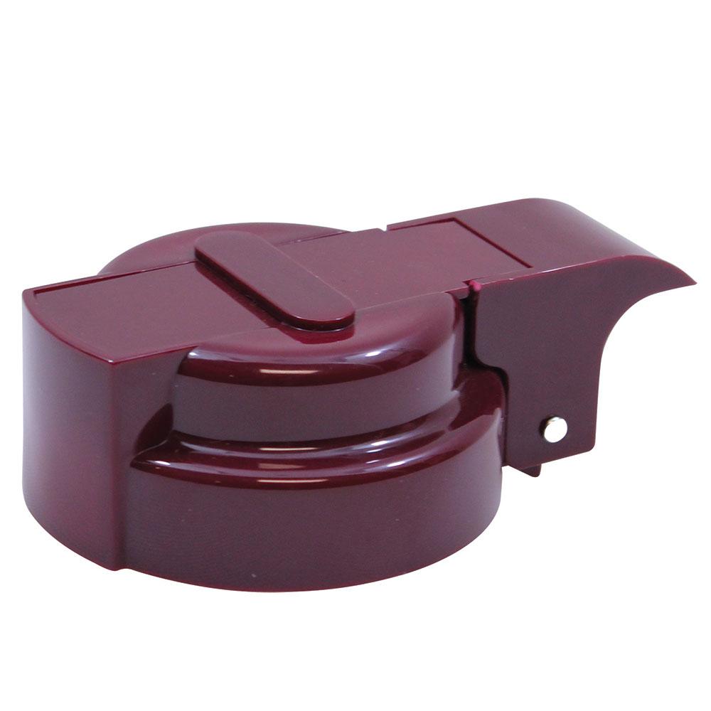 Tablecraft 3248BET Option Dispenser Top Maroon Restaurant Supply