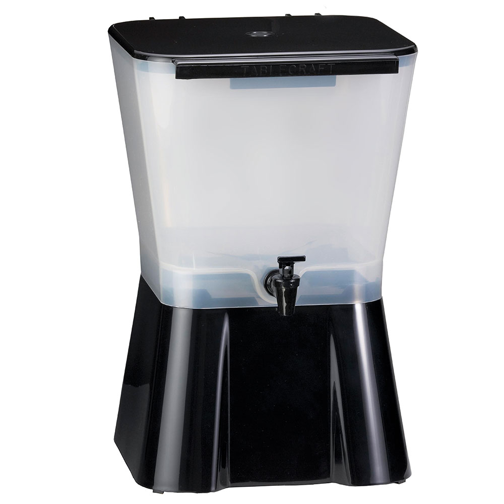 Tablecraft 953 Beverage Dispenser, 3 Gallon, Black Base, P